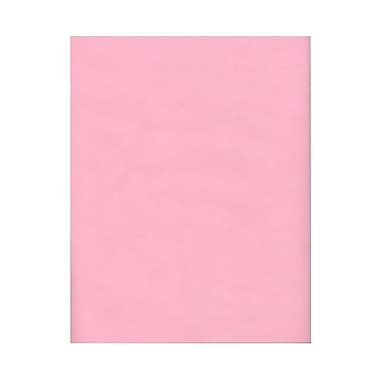 JAM Paper® 8 1/2in. x 11in. Vellum Translucent Paper, Blush Pink, 100 Sheets/Pack