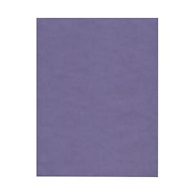 JAM Paper® 8 1/2in. x 11in. Translucent Vellum Paper, Wisteria Purple, 100 Sheets/Pack