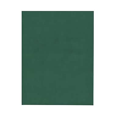 JAM Paper® 8 1/2in. x 11in. Translucent Paper, Forest Green, 100 Sheets/Pack