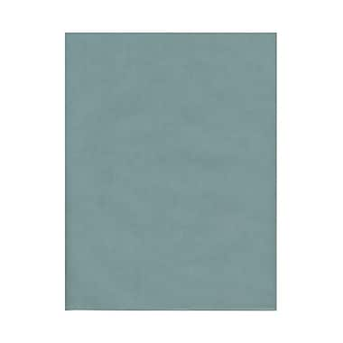 JAM Paper® 8 1/2in. x 11in. Translucent Vellum Paper, Ocean Blue, 100 Sheets/Pack