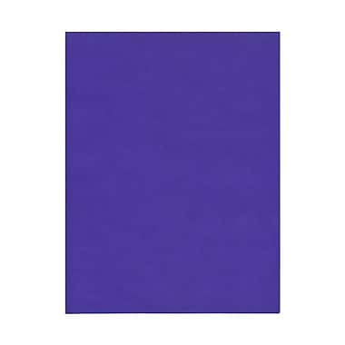 JAM Paper® 8 1/2in. x 11in. Translucent Vellum Paper, Primary Blue/Purple, 100 Sheets/Pack
