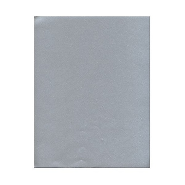 JAM Paper® 8 1/2in. x 11in. Metallic Stardream Paper, Silver Pearlized Elegance, 100 Sheets/Pack