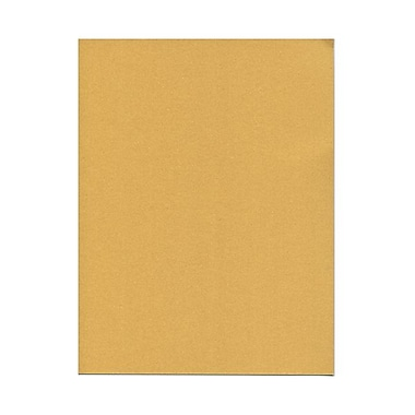 JAM Paper® 32 lb. 8 1/2in. x 11in. Metallic Stardream Paper, Gold, 100 Sheets/Pack