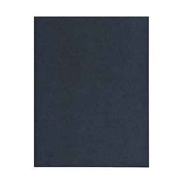 JAM Paper® 8 1/2in. x 11in. StardPack Metallic Cover Cardstock, Anthracite/Dark Gray, 50/Pack