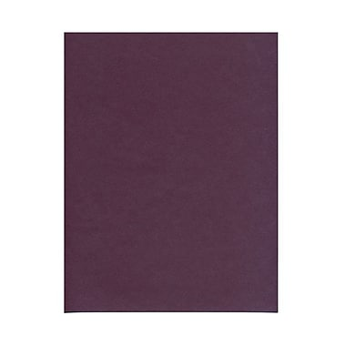 JAM Paper® 8 1/2in. x 11in. Metallic Stardream Paper, Ruby/Purple, 100 Sheets/Pack