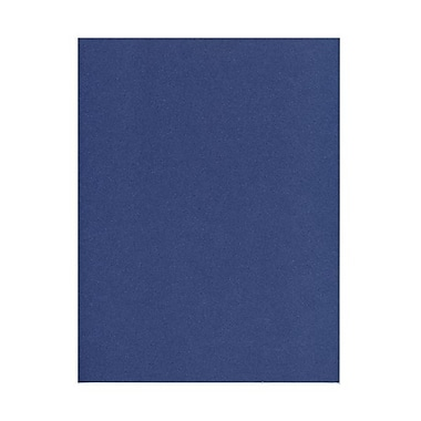 JAM Paper® 32 lb. 8 1/2in. x 11in. Metallic Stardream Paper, Sapphire Blue, 100 Sheets/Pack