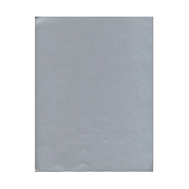 JAM Paper® 8 1/2in. x 11in. Metallic Stardream Paper, Silver, 20 Sheets/Pack