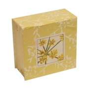 """JAM Paper® 4"""" Cube Pads, Yellow Arbos, Sold Individually"""