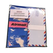 JAM Paper® 22 Onion Skin Paper Sheets and 25 Envelopes Authentic Airmail Stationery Set