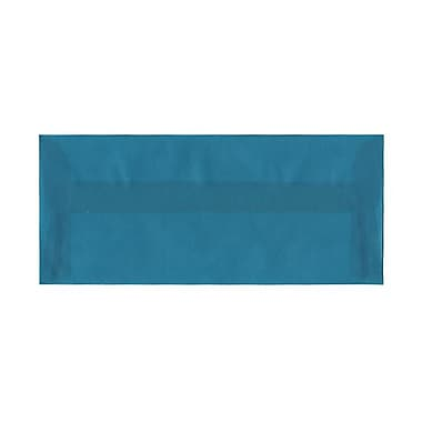 Jam® 25/Pack 4 1/8in. x 9 1/2in. Booklet Translucent Vellum Envelopes w/Gum Closure