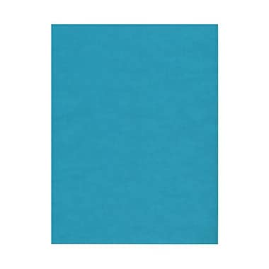 JAM Paper® 8 1/2in. x 11in. Translucent Paper, Aqua, 100 Sheets/Pack