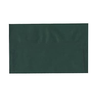 JAM Paper® A10 Invitation Envelopes, 6 x 9.5, Translucent Vellum Racing Green, 1000/Pack (PACV863C)