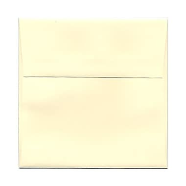 JAM Paper® 5 x 5 Square Envelopes, Ivory, 100/pack (02792255B)