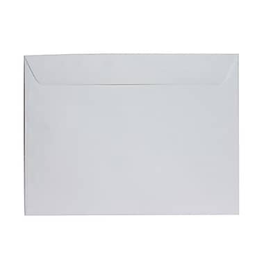 JAM Paper® 9 1/2in. x 12 5/8in. Booklet Envelopes, Matte White, 25/Pack