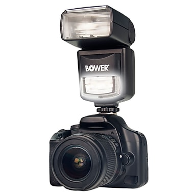 Bower® SFD970 Digital TTL Flash and LED Light for Canon