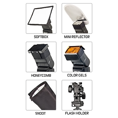 Bower® SFD06 6-in-1 Flash Lighting Kit