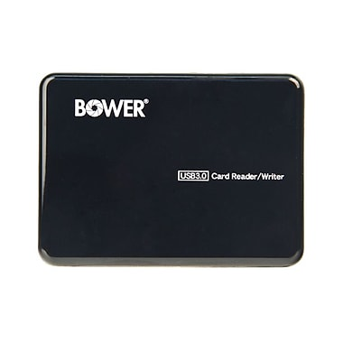Bower® Platinum USB 3.0 Multi-Fit Card Reader for Camera