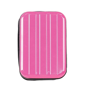 Bower® Super Heavy-Duty Metal Compact Digital Camera Case, Pink