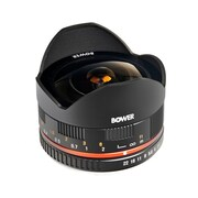 Bower® SLY288SEB Black 8mm f/2.8 Ultra-Wide Fisheye Lens for Sony E Mount Cameras
