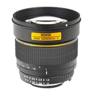 Bower® SLY85 85mm f/1.4 Manual Focus Lens for Nikon Cameras