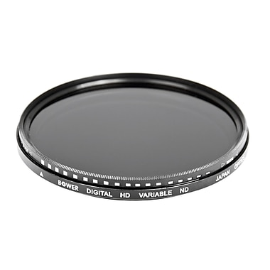 Bower® FN72 Variable Neutral Density Filter For 72mm Lens