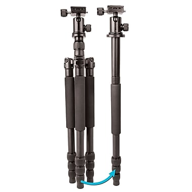 Bower® Duo Flex 2-In-1 60'' Professional Tripod and Monopod