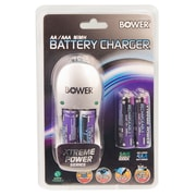 Bower® Xtreme Power Series 4AA/AAA Battery Charger