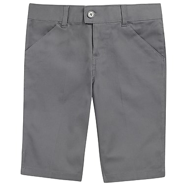 French Toast Girls Bermuda Short, Grey, Size 14