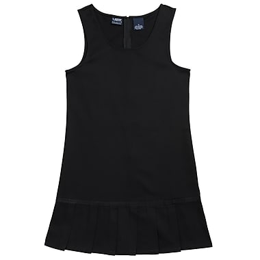 French Toast Girls Pleated Hem Jumpers, Black