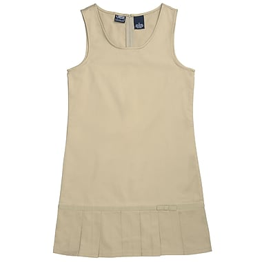French Toast Girls Pleated Hem Jumpers, Khaki