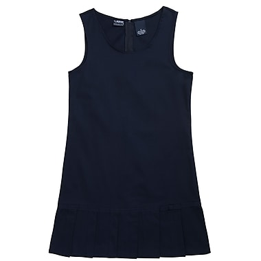 French Toast Girls Pleated Hem Jumpers, Navy
