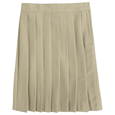 French Toast Girls Pleated Skirt, Khaki, Size 6