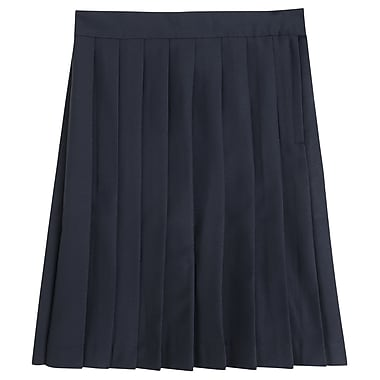 French Toast Girls Pleated Skirt, Navy, Size 20 Plus