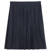 French Toast Girls Pleated Skirt, Navy, Size 5
