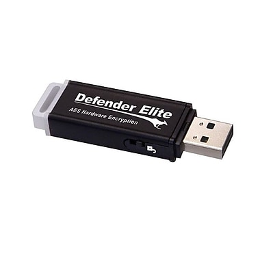 Kanguru™ Defender Elite™ 128GB USB 2.0 Flash Drive