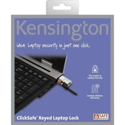Kensington® ClickSafe K64664US Keyed Laptop Cable Lock