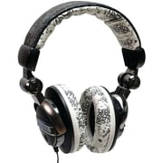 Mizco EKU-FRC-GRFBK Force Headphone, Graffiti Black