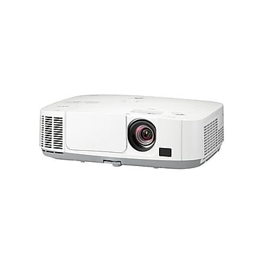 NEC NP-P401W WXGA LCD Entry-Level Professional Installation Projector, White