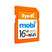 Eye-Fi® Mobi 16GB SDHC (Secure Digital High Capacity) Class 10 Memory Card