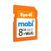 Eye-Fi® Mobi 8GB SDHC (Secure Digital High Capacity) Class 10 Memory Card