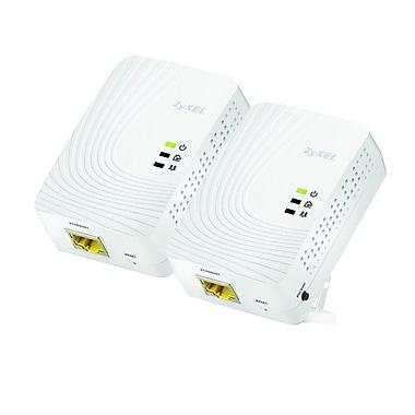 ZyXel PLA5205 Powerline Gigabit Ethernet Adapter, 600 Mbps