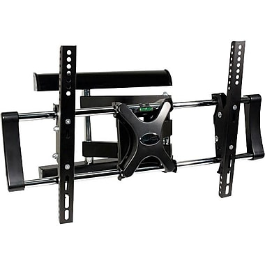 Steren® 720-110 Medium Articulating TV Wall Mount For Flat Panel Up to 132.3 lbs.