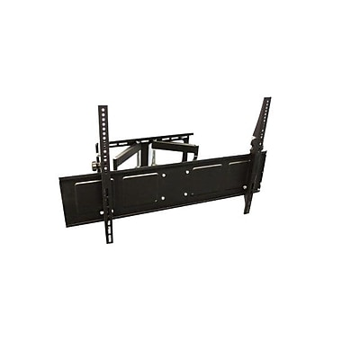 Steren® 720-115 Low Profile Mount Large Articulating TV Wall Mount For Panel Up to 110.2 lbs.