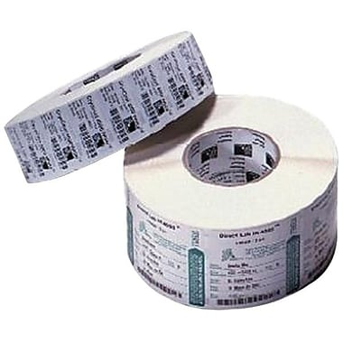 Zebra PolyPro 3000T 4in. x 2.5in. Thermal Transfer Label, White