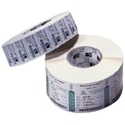 Zebra PolyPro 3000T 4 x 2.5 Thermal Transfer Label, White