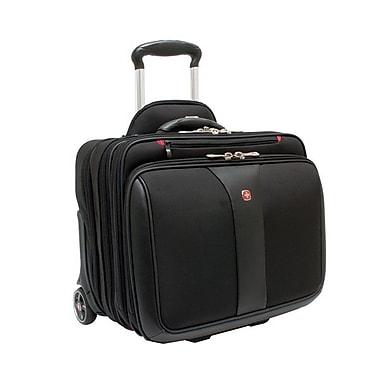 SwissGear PATRIOT Wheeled Computer Case, Black