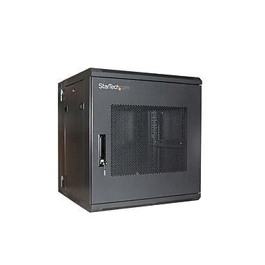 Startech.com RK1219WALHM 19in. Hinged Wall Mount Server Rack Cabinet, 12U