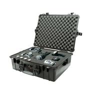 Pelican Orange Polypropylene Large Shipping Case with Foam (1600-000-150)