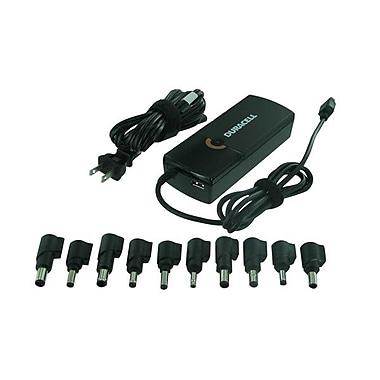 Duracell Ultra Compact 90 W Laptop Adapter, 110/220 VAC Input, 19 VDC Output