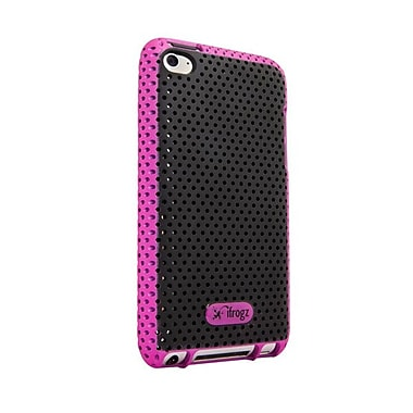 Zagg® ifrogz Breeze Case For Apple iPod Touch 4th Gen, Pink/Black